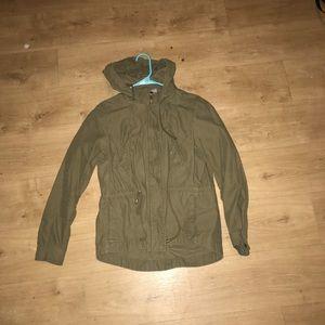 Tan light jacket